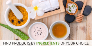 Shop By Ingredients at Lovelylifestyle