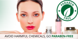 Paraben free Products at Lovelylifestyle