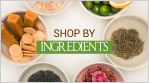 shop by ingredient for skin care hair care