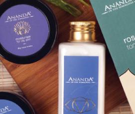 Ananda Spa Ayurvedic Products for Skin & Hair