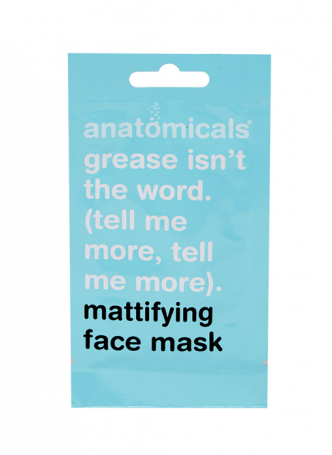 Anatomicals Mattifying Face Mask (Pack of 3)