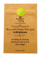 Ancient Living Rose & Orange Face Pack (Pack of 2)