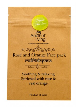 Ancient Living Rose & Orange Face Pack (Pack of 2)