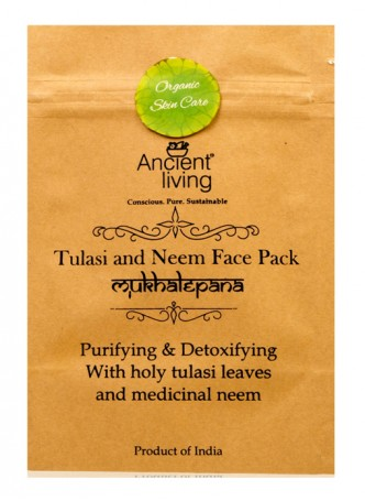 Ancient Living Tulsi & Neem Face Pack (Pack of 2)