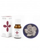 Aroma Treasures Lotus Diffuser with Rose Absolute Essential Oil