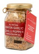 Artisan Palate Natural Onion Garlic Chilli Pepper Himalayan Pink Salt (Pack of 2)