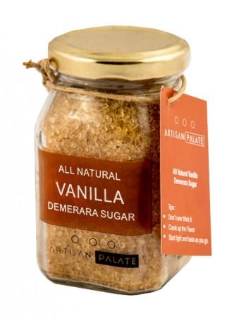 Artisan Palate Natural Vanilla Demerara Sugar (Pack of 2)
