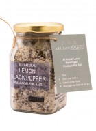 Artisan Palate Natural Lemon Black Pepper Himalayan Pink Salt (Pack of 2)