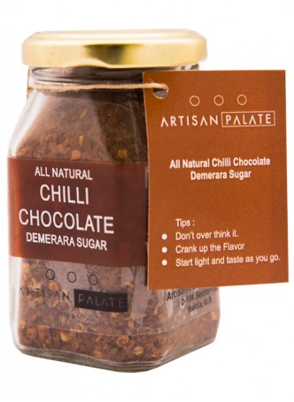 Artisan Palate Natural Chilli Chocolate Demerara Sugar (Pack of 2)