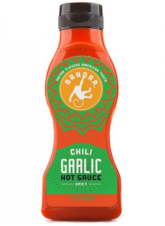 Bandar Chili Garlic Hot Sauce (Pack of 2)