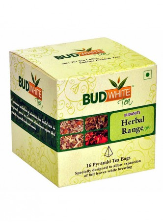 BudWhiteTeas Combo Pack of Herbal Tea Range (4x4 Tea Bags)