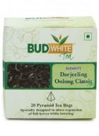 BudWhiteTeas Darjeeling Oolong Classic Tea (20 Pyramid Tea Bags)