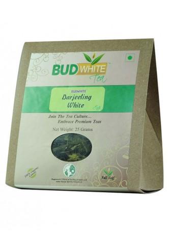 BudWhiteTeas Darjeeling White Tea (25 Gms Pack)