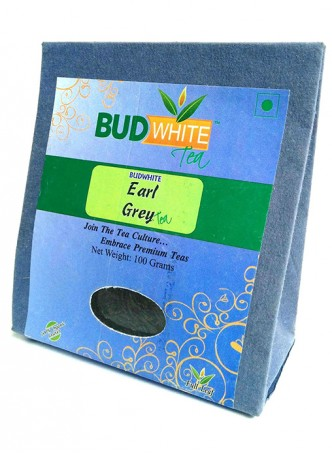 Budwhite Teas Earl Grey Tea-100 Gm Loose