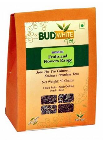 Budwhite Teas Fruits And Flowers Tea Combo-50 Gm Loose