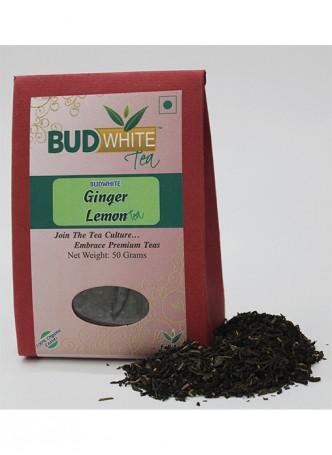 Budwhite Teas Ginger Lemon Tea-50 Gm Loose