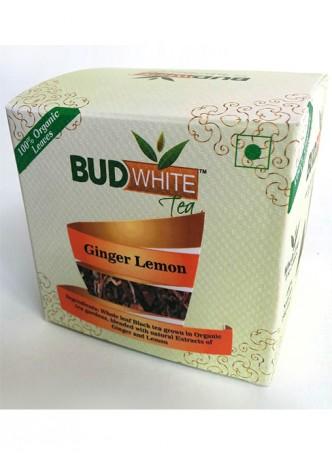 Budwhite Teas Ginger Lemon Black Tea-20 Pyramid Teabags