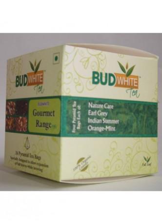 Budwhite Teas Gourmet Tea Combo-16 Pyramid Teabags