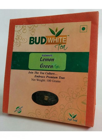 Budwhite Teas Lemon Green Tea-100 Gm Loose