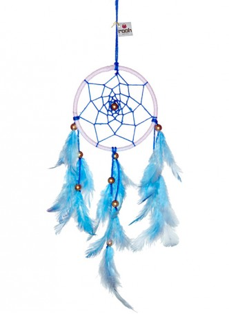 Dream Catcher by Rooh-Blue and White (small)