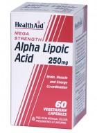 HealthAid Alpha Lipoic Acid 250mg-Mega Strength
