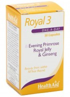 HealthAid Royal 3-Evening Primrose-Royal Jelly-Ginseng