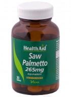 HealthAid Saw Palmetto 265mg-Equivalent