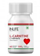 Inlife L-Carnitine L-Tartrate, 500mg