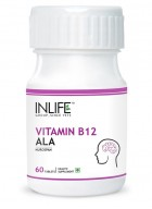 Inlife Vitamin B12 plus ALA 60 Tabs