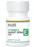 Inlife Vitamin E plus Wheat Germ Oil 60 Caps