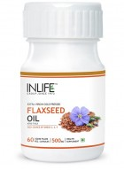 Inlife Omega 369 - Flaxseed Oil 60 Veg Caps