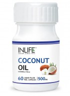 Inlife Coconut Oil 60 Vegetarian Capsules