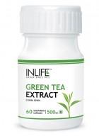 Inlife Green Tea Extract – 500mg (60 Veg. Capsules)