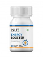 Inlife Energy Booster Supplement 500 mg - 60 Veg Capsules