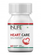 Inlife Heart Care Supplement 500 mg - 60 Veg Capsules