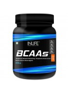 INLIFE BCAA Nutrition Energy Supplements - 450 grams Orange Flavour