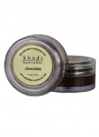 Khadi Chocolate Lip Balm with Beeswax and Shea Butter-10g Set of 2