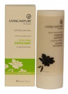 Living Nature Certified Natural Vitalising Exfoliant with Manuka Honey