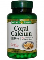 Natures Bounty Coral Calcium 1000Mg 120 Capsules