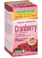 Natures Bounty Cranberry 60 Softgel