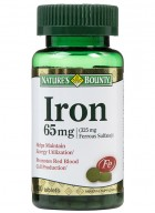 Natures Bounty Iron 65 Mg 100 Tablets