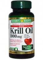 Natures Bounty Red Krill Oil 1000 Mg Omega 3 30 Softgel