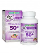 Natures Bounty Your Life Multi Womens 50+ 90 Tab