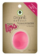 Organic Harvest Pomegranate Lip Balm (Pack of 2)