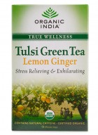 Organic India Tulsi Lemon Ginger Tea - 18 Tea Bags (2 Unit)