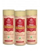 Organic India Tulsi Chai Masala - 100g Tin of Tea (Set of 3)
