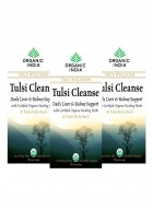 Organic India Tulsi Cleanse Tea - 25 Tea Bag (Set of 3)
