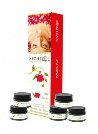 Richfeel Rose Facial Kit