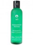 Spa Ceylon Sandalwood Vetiver Aromaveda Hair Shampoo