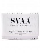Svaa Moroccan Argan Oil and Rose Soap